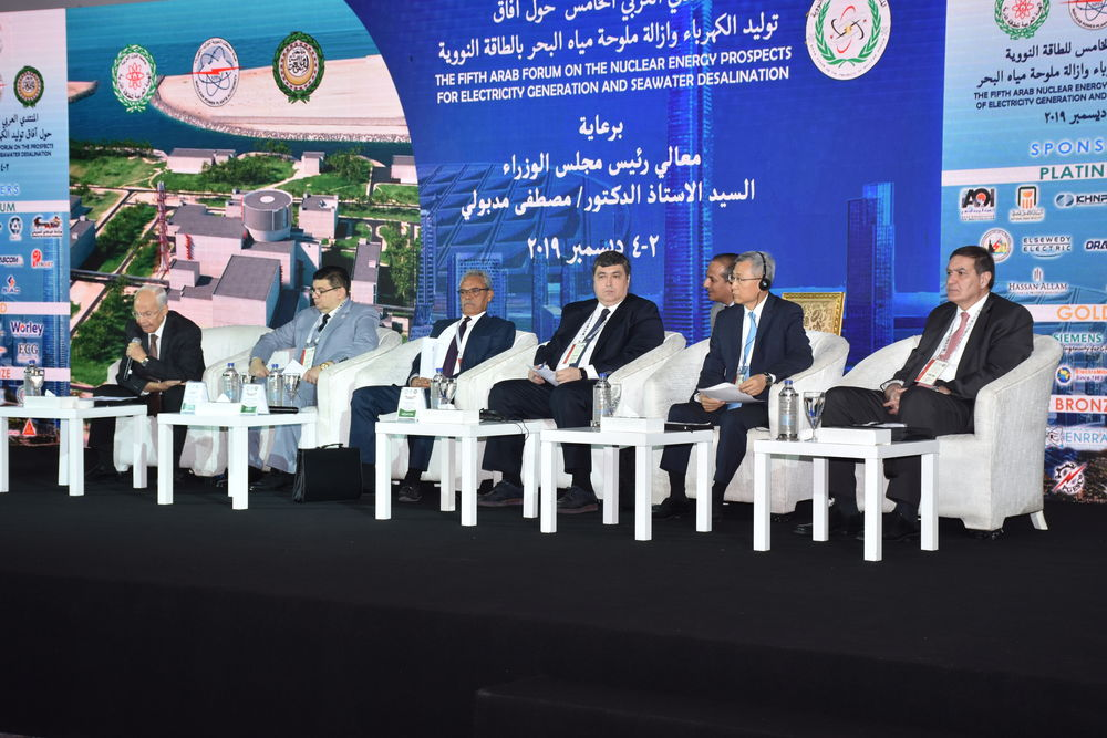 THE FIFTH ARAB FORUM ON THE NUCLEAR ENERGY PROSPECTS FOR ELECTRICITY GENERATION AND SEAWATER DESALINATION